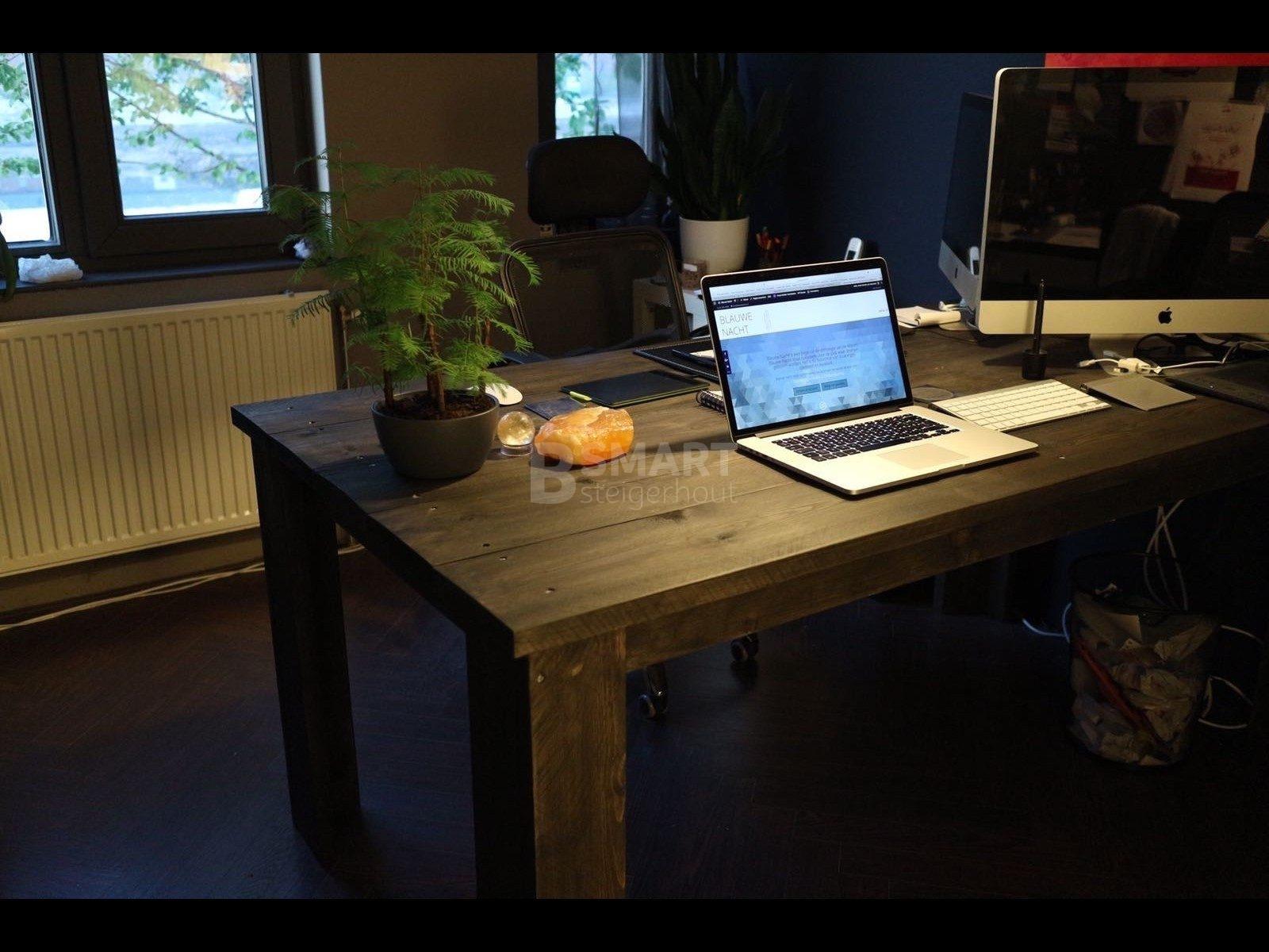 Tafel Steigerhout Goedkoop : Tafel van steigerhout b smart steigerhout