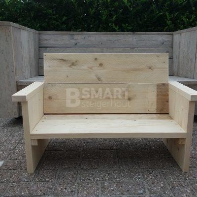 Loungebank van steigerhout voor kinderen
