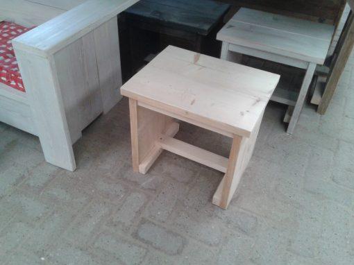 Steigerhouten kruk meubelen van steigerhout Huizen