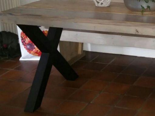 Xpoot steigerhout tafel