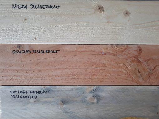 Houtkleur steigerhout of douglas steigerhout